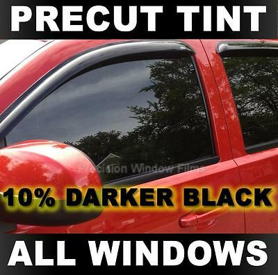 Darker Black 10/% VLT PreCut Window Tint for Honda Accord 4dr Sedan 2008-2012