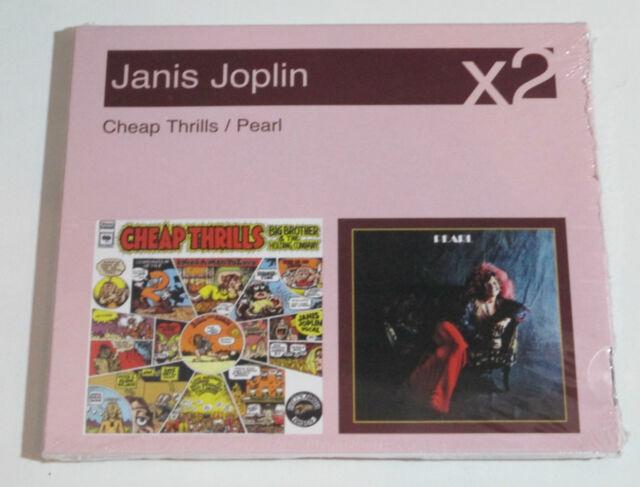 CD/SEALED NEU NEW OVP/JANIS JOPLIN/X2/CHEAP THRILLS/PEARL/88697145262