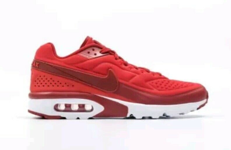 Nike Air Max BW Ultra SE Running Shoes Men's US 11.5 Red White 844967-601 NEW