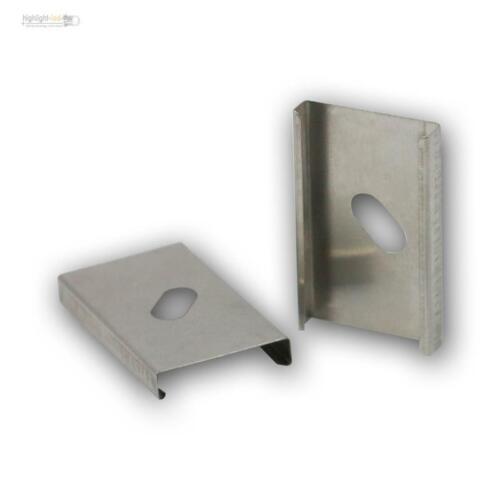 siehe Beschreibung ! nicht für alle !! 1 Paar Halteclips für Aluminium Profil