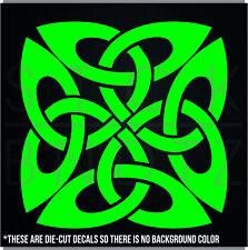 CELTIC TRIBAL KNOT IRISH CUTE FUNNY DECAL STICKER MACBOOK CAR WINDOW MOTORCYCLE