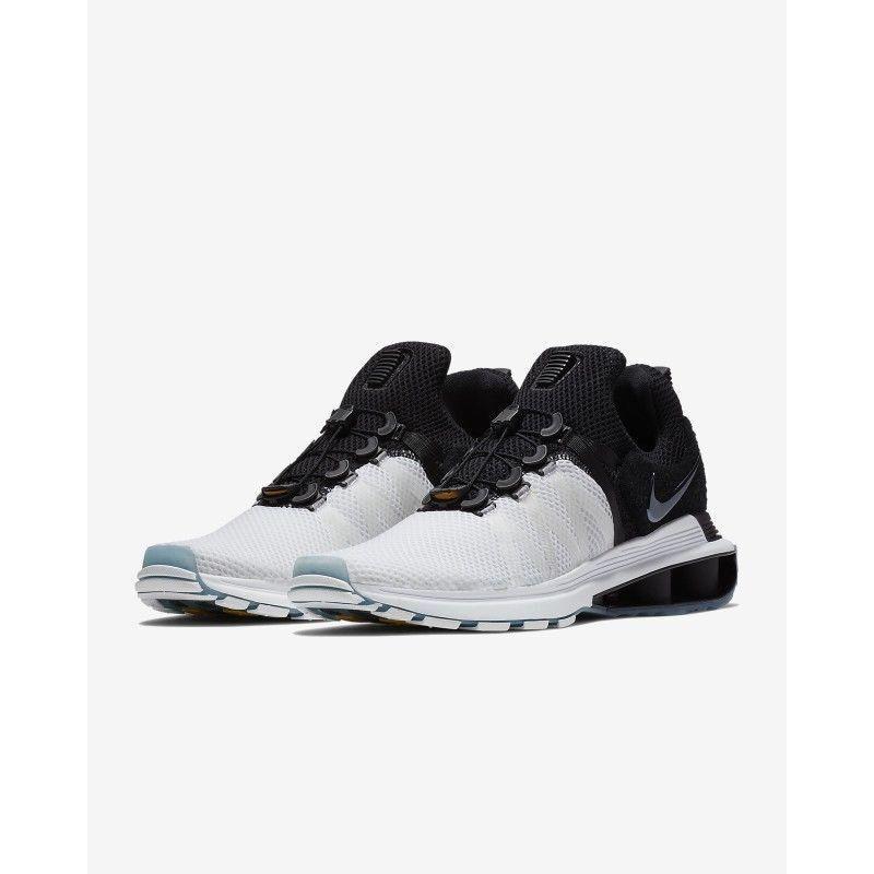 Nike SHOX Women Running Shoes Sneakers Size Size Size 7.5 ELECTRO White Gray Training 279990