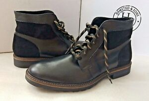 Size 44 Boots Leather amp; Sons Men's Black Hemsted qxZgz6w
