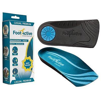 Footactive Casual Premium-suole Per Tallone Sporn. Suola 3/4- Perfetto Nella Lavorazione