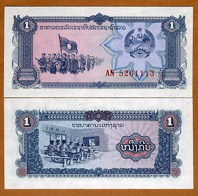 Laos 100 Kip ND 1979 P.30  Uncirculated Unc