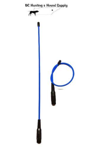 "Garmin Alpha 100 Flexible 14/"" /& 10 TT15 //T5 Tuff Skin Long Range Antenna set"