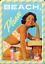 Métal 10x14 CM Beach Please Pin Up Nostalgic-Art Carte Postale en Tôle