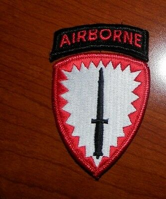 ARMY PATCH, SSI,-US ARMY SPECIAL OPERATIONS COMMAND, EUROPE, SOCEUR