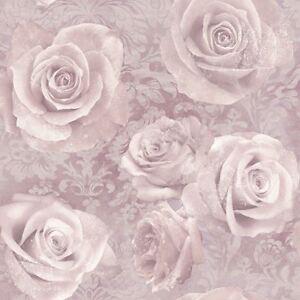 Fantasticheria Rosa Carta Da Parati Rosa Cipria Arthouse 623302