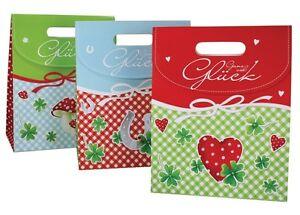 Geschenketasche Ganz Viel Gluck Ca 31x25x12 Cm Ideal Fur Geschenke