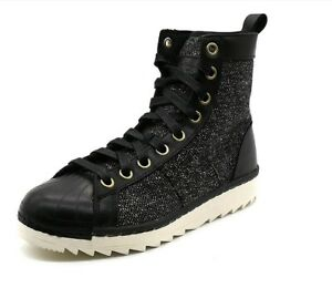 a37acd1e6efd Adidas Originals Mens Superstar Jungle Boots Hi Top Casual Winter ...