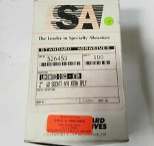 "100 Pcs Standard Abrasives 2/"" Laminated Disc XTRA Scotch Hole 526453 3 PLY 40"