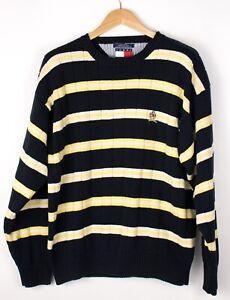 TOMMY-HILFIGER-Men-Casual-Knit-Jumper-Sweater-Size-XL-ATZ1058