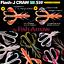 "FISH ARROW SOFT PLASTIC BAIT LURE FLASH-J CRAW 3.5"" SW"