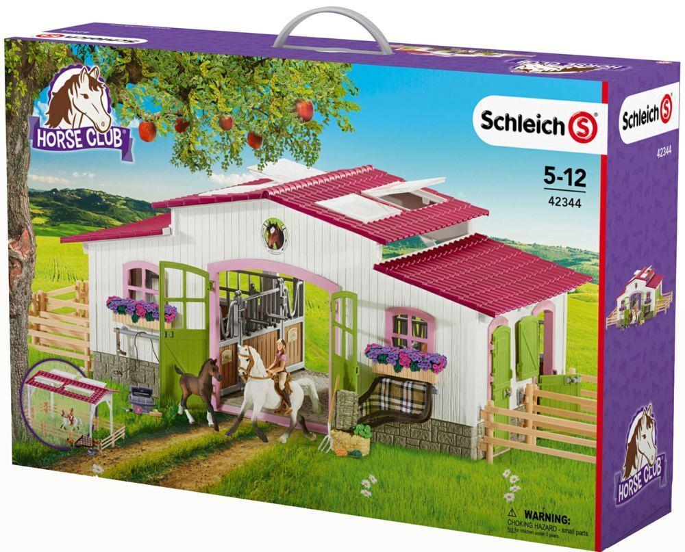 Schleich ® 42344-Reiterhof con charra y caballos, nuevo en el embalaje original