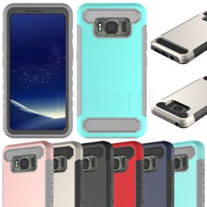 Double-Couche-Dur-Armor-Case-antichoc-couvercle-en-caoutchouc-pour-Samsung-Galaxy-S8-Active