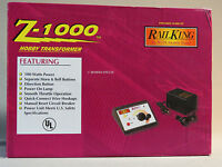 Mth Z-1000 Transformer W Power Brick Train Track Power Pack O Gauge 40-1000