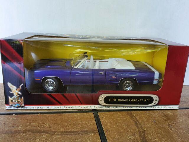 Road Signature 1970 Dodge Coronet R/T Convertible 1:18 Diecast Model Car