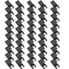 50packs Universal 34mm Oscillating Multi Tool Saw Blades Carbon Steel Cutter Diy