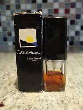 AVON COTE d'Azur Eau de Parfum Purse Spray Lot of 2 .37 oz 50% Full Louis Feraud
