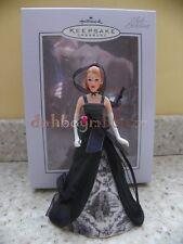Hallmark 2005 Club Exclusive Porcelain Barbie Doll Christmas Ornament Rare