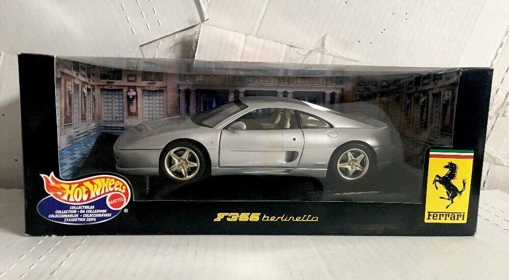 NY varm Wheels F355 Berlinetta Ferrari 1 18 silver Collectible Car