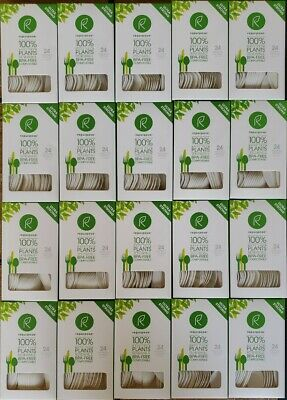 Case Repurpose 100/% Compostable Plant Based Assorted Utensils 20boxes of 24ct