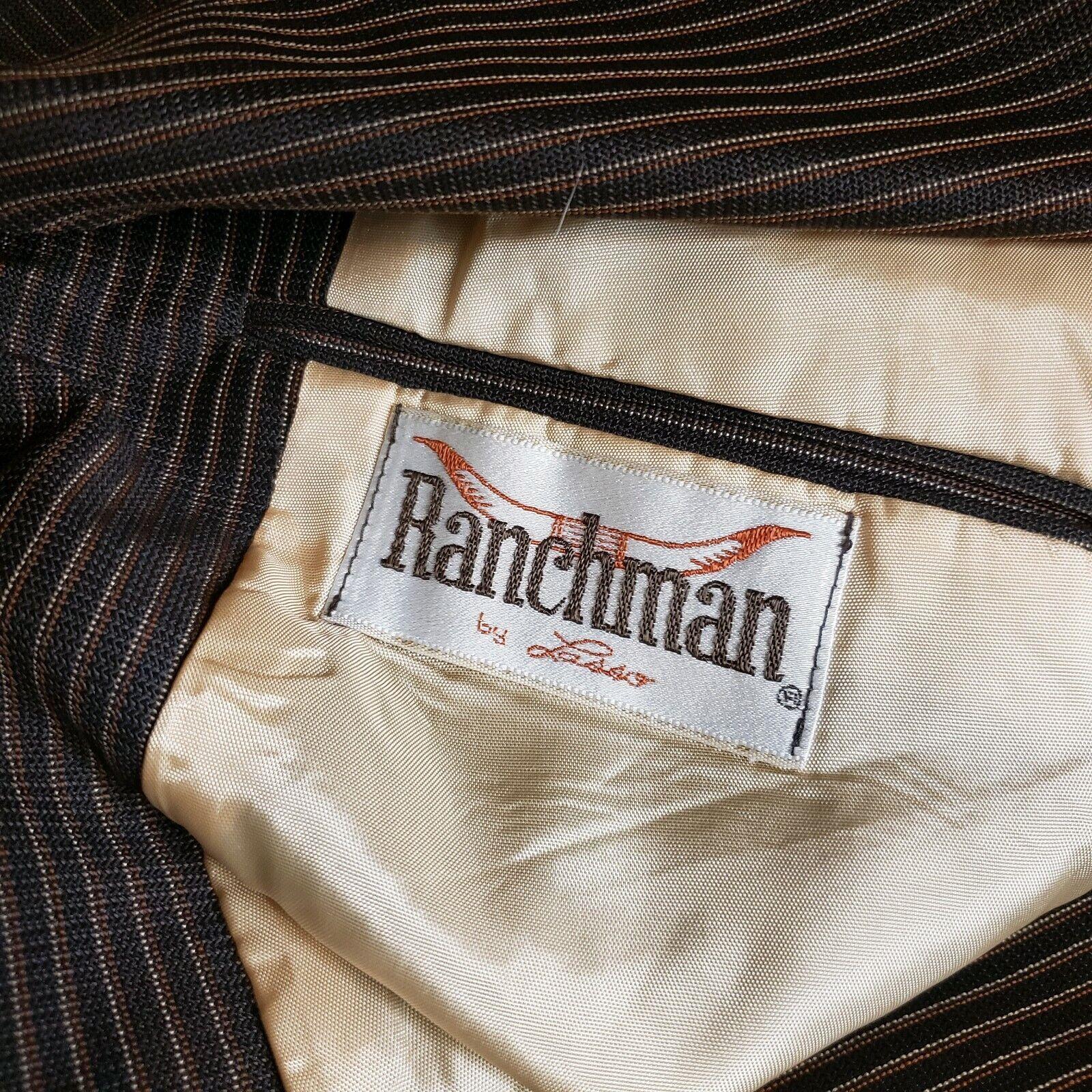 Ranchman Lasso Vintage Western Rockabilly Suit Ja… - image 6