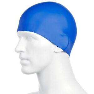Speedo-Plain-Moulded-Swim-Practice-Quick-Dry-Silicone-Cap
