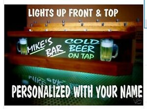 REMOTE-control-muticolor-LED-Personalized-neon-font-18-BEER-tap-handle-display