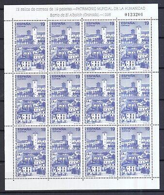 Briefmarken 3299-3301 Direktverkaufspreis Spanien 1996 Postfrisch Unesco-welterbe Minr