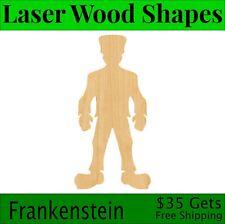 Frankenstein/'s Bride Laser Cut Out Unfinished Wood Shape Craft Supply MYTH33