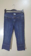 Señoras 3/4 longitud Jeans Topshop Moto Size UK 12 euro 40