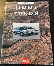 1993 GMC Truck Brochure - Jimmy Yukon