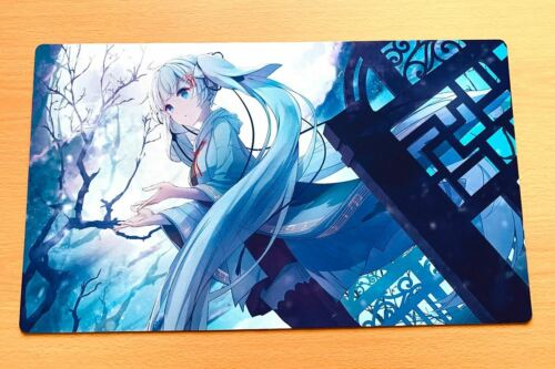F2259 Free Tapis Sac Anime Girl Custom Playmat Yugioh MTG Vanguard GCC Desk Mat