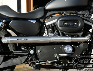 harley bsl cuba libre chico style auspuff f r sportster. Black Bedroom Furniture Sets. Home Design Ideas