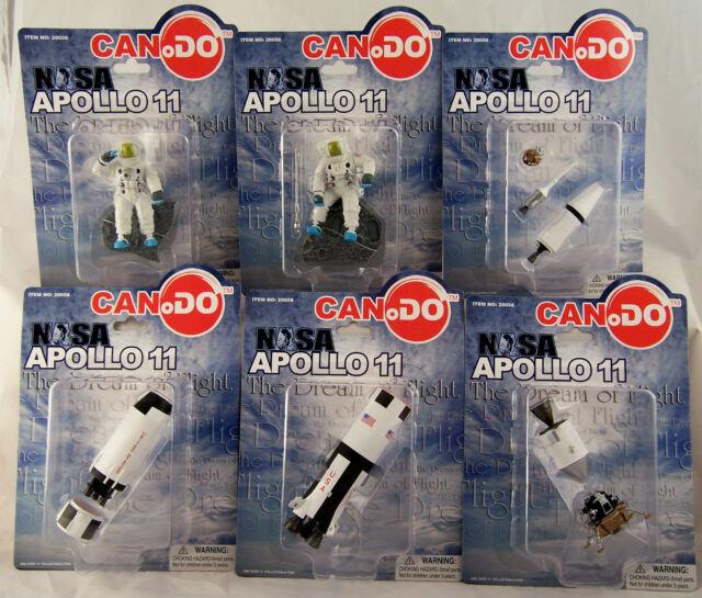 Can.Do NASA APOLLO 11 COMPLETE SET OF 6 Saturn V Columbia Eagle Astonauts NEW!