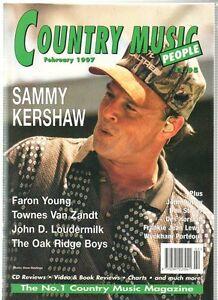 Country Music People Magazine February 1997 Ebay