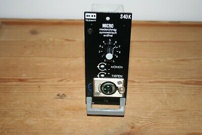 K+h Telewatt S 40 K Einschub Audio For Video