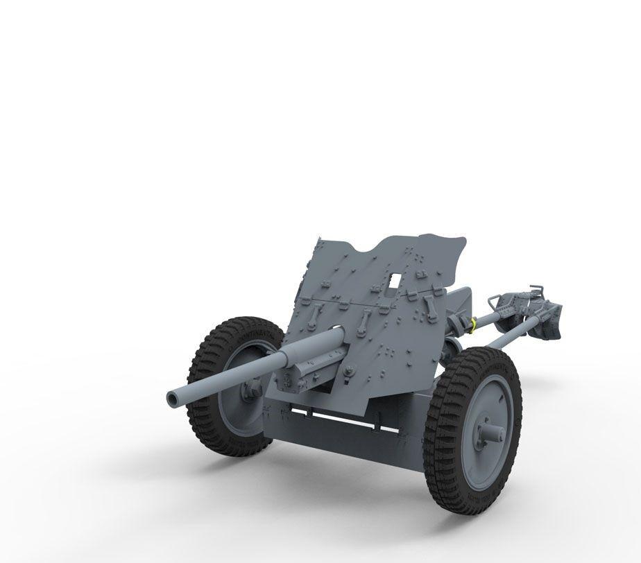 BRONCO MODELS KRUPP PROTZE L2H 143 KFZ.69 W/3.7cm W/3.7cm W/3.7cm PAK 36 1:35 CB35133 | Stocker  93755f