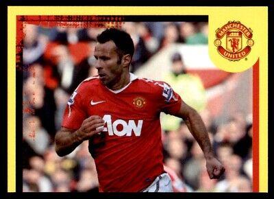 57 Panini Manchester United 2010-2011 Ryan Giggs no