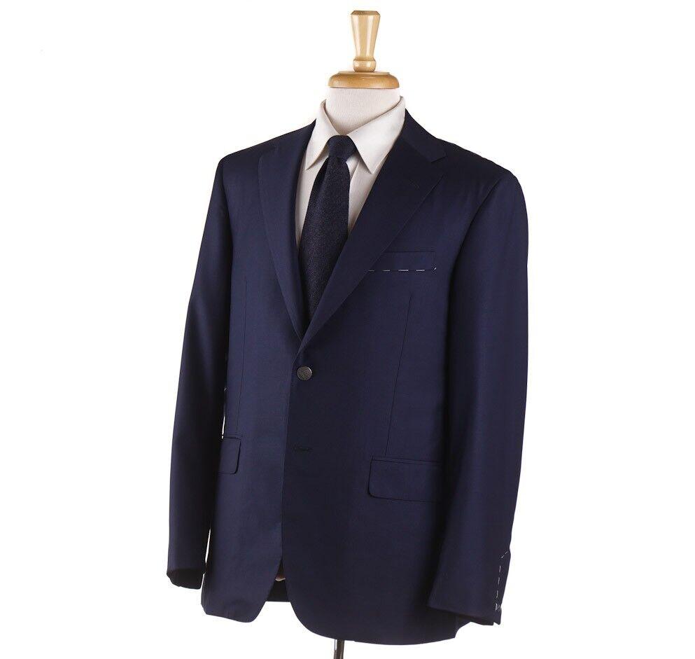 NWT 3695 OXXFORD 'Randolph' Navy 130s Wool Crest Button Blazer 40 R Sport Coat