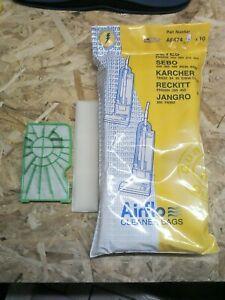 Pour-SEBO-BS36-BS46-360-460-Aspirateur-Service-Kit-Pre-Post-Filtre-10-Sacs