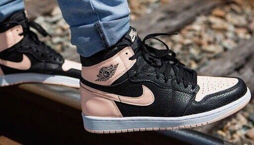 Nike Air Jordan 1 Retro High OG US 17 Men's Shoes - Black/White ...