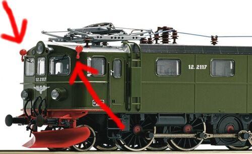Märklin 37754 zurüstteile rouge//blanc Mfx Digital minerai Locomotive dm3 37753 37756