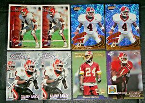 8-NFL-CARDS-1999-CHAMP-BAILEY-ROOKIE-CARD-LOT-WASHINGTON-REDSKINS-DENVER-BRONCOS