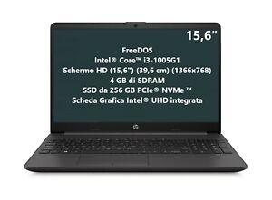 "NOTEBOOK HP 250 G8 i3-1005G1 RAM 4GB SSD 256 15,6"" HD FREEDOS NO-DVD 2E9G9EA"