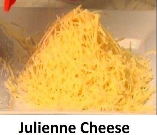 AUSTRALIAN Made carota Zucchini 1x BELLE Julienne affettatrice buona un anno di garanzia