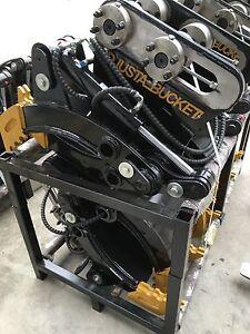 Hydraulic Grabs 7 -10 T Kubota, Bobcat, Digger, Excavator Log Grab