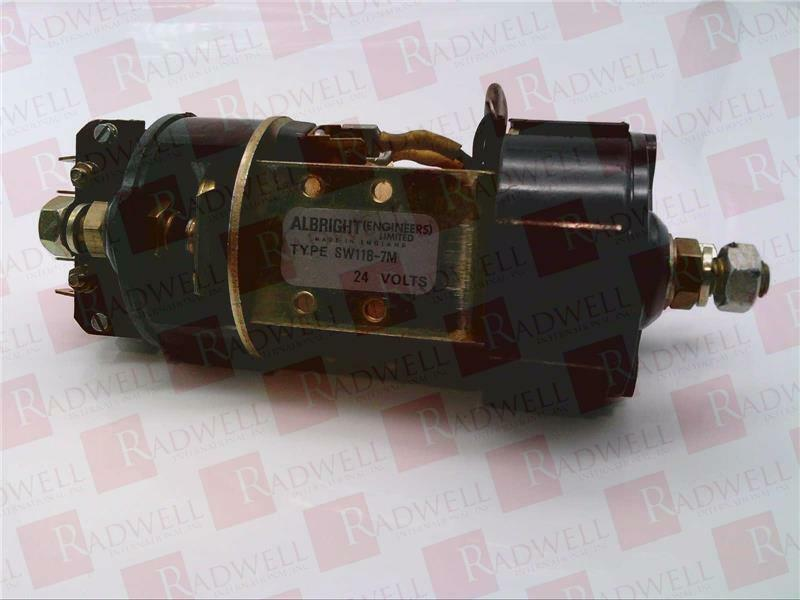 CURTIS INSTRUMENTS SW118-7M   SW1187M (USED TESTED CLEANED)